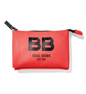 Havana Brights Cosmetics Bag